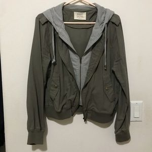 Ashley By 26 International Green Gray Jacket